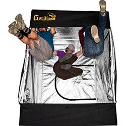 The Gorilla 5x5 grow tent is the highest quality in this size range.