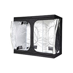 The iPower 4x8 grow tent is the best value on the market.